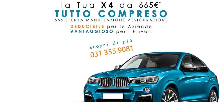 BMW X4 a noleggio