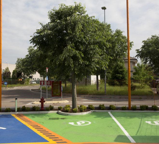 parcheggio elettrico