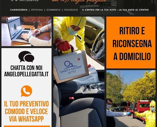 ap car service preventivo sanificazione ritiro auto a casa
